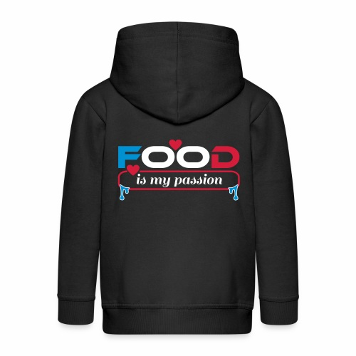 Food is my passion - Kinder Premium Kapuzenjacke