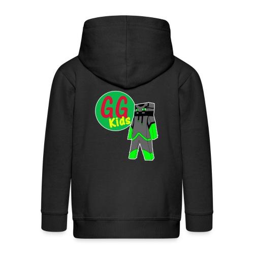 Jack and logo - Kids' Premium Hooded Jacket