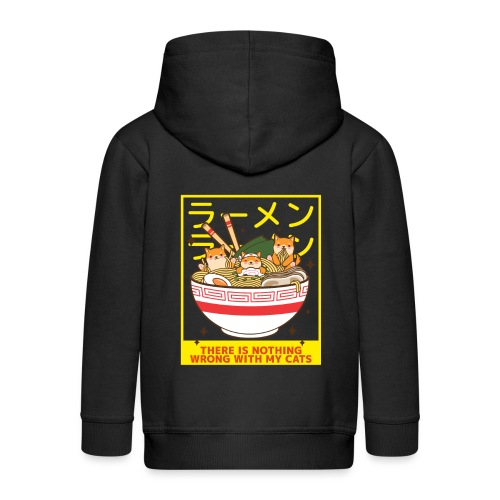 There is nothing wrong with my cats - Animal lover - Veste à capuche Premium Enfant