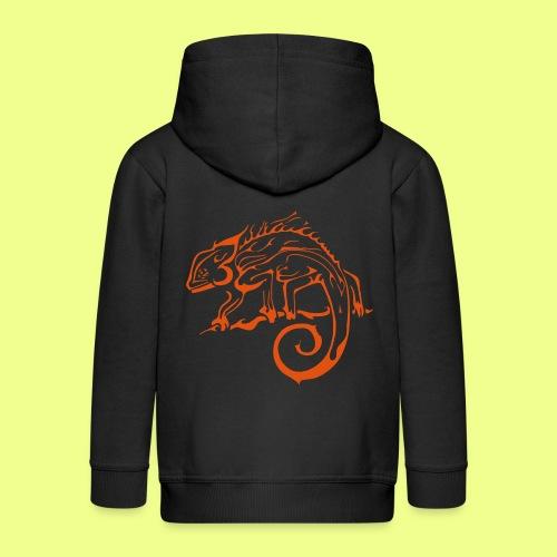 iguana - Chaqueta con capucha premium niño