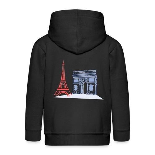 Paris - Veste à capuche Premium Enfant