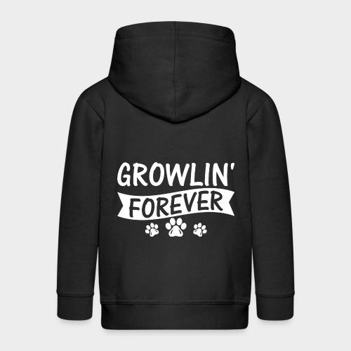 GROWLIN' FOREVER - Kinder Premium Kapuzenjacke
