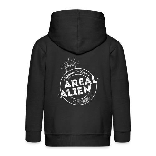 Alien - Hipster Logo Design - Premium Barne-hettejakke