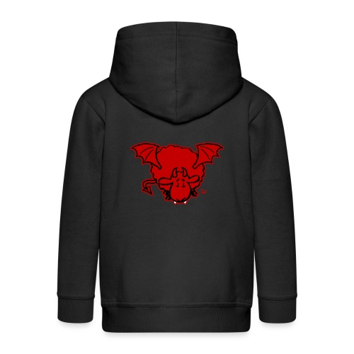 Devil Sheep - Kids' Premium Hooded Jacket