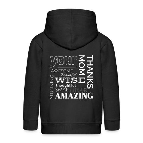 Amazing clothes - Chaqueta con capucha premium niño