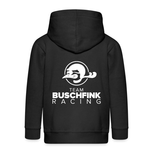 Team Buschfink On Dark - Kids' Premium Zip Hoodie