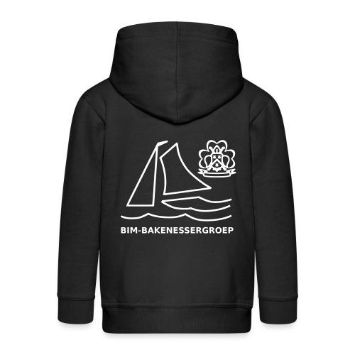 BIM Logo - Kinderen Premium jas met capuchon