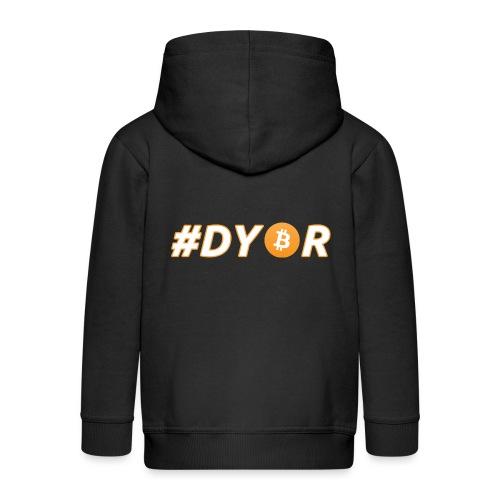 DYOR - option 3 - Kids' Premium Zip Hoodie