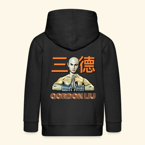 Gordon Liu - San Te Monk (Official) 6 prikker - Premium hættejakke til børn