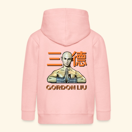 Gordon Liu - San Te Monk (Official) 6 dots - Kinderen Premium jas met capuchon