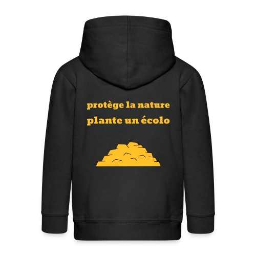 Plante un écolo - Veste à capuche Premium Enfant