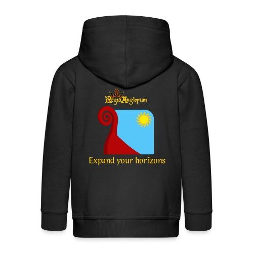 Bear prow - Kids' Premium Zip Hoodie