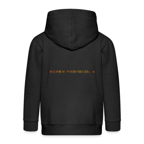 ScrewP4 Final - Kids' Premium Zip Hoodie