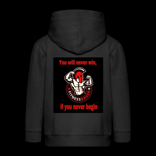 You will never win - Kinder Premium Kapuzenjacke