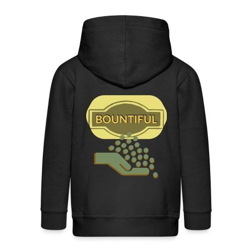Bountiful - Kids' Premium Zip Hoodie