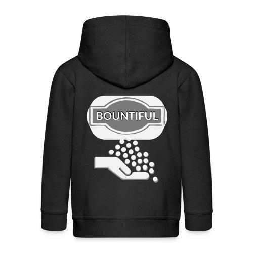 Bontiul gray white - Kids' Premium Hooded Jacket