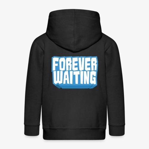 Forever Waiting - Kids' Premium Zip Hoodie
