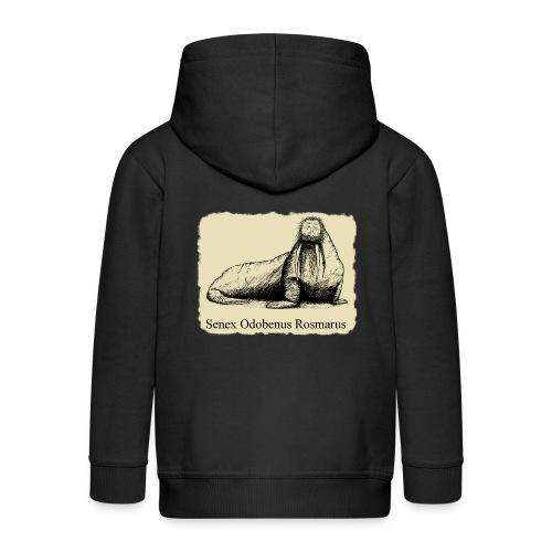 The Old Walrus - Kids' Premium Zip Hoodie