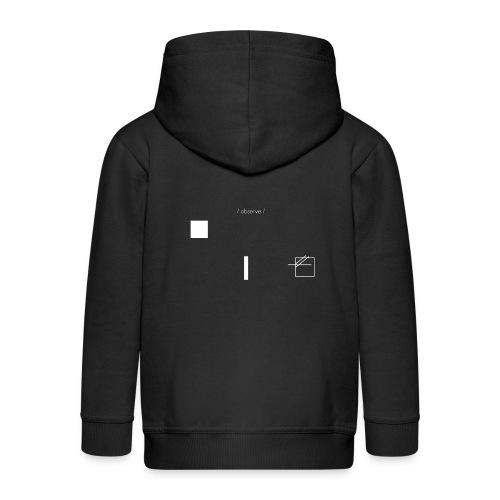 /obeserve/ sweater (M) - Premium Barne-hettejakke