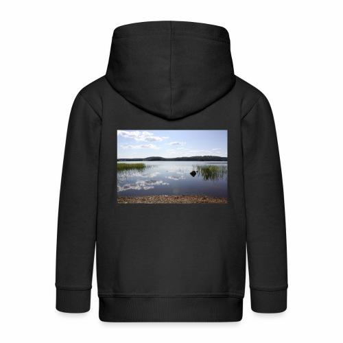 landscape - Kids' Premium Zip Hoodie