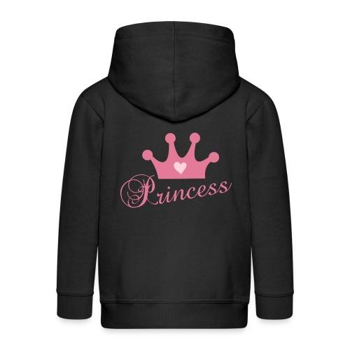Princess - Kinder Premium Kapuzenjacke