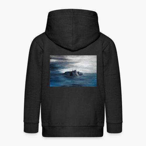 Zmierzch - Rozpinana bluza dziecięca z kapturem Premium