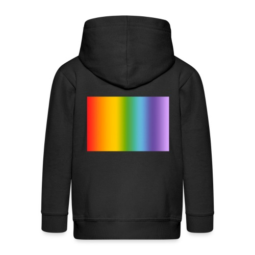 Hintergrund Regenbogen soft - Kinder Premium Kapuzenjacke