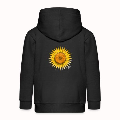Sunflower - Kids' Premium Zip Hoodie