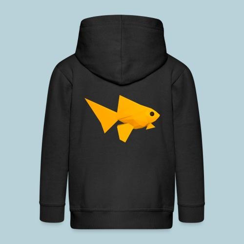 RATWORKS Fish-Smish - Kids' Premium Zip Hoodie