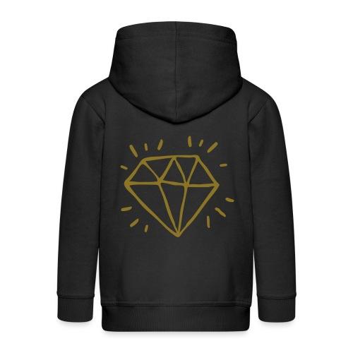 diamant - Veste à capuche Premium Enfant