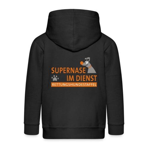 Supernase im Dienst - Kinder Premium Kapuzenjacke