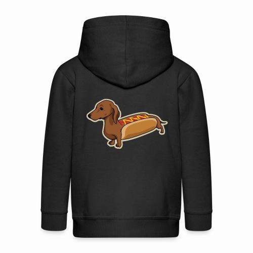 Hot-Dog Dog - Veste à capuche Premium Enfant