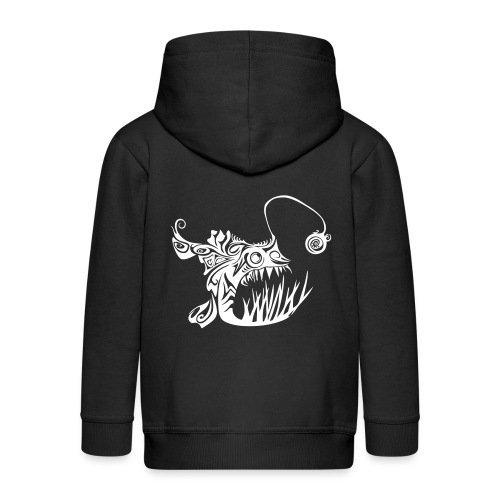 Cranky anglerfish - Kids' Premium Zip Hoodie