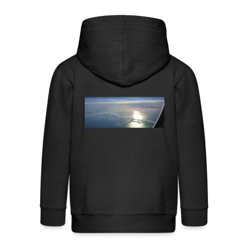 Flugzeug Himmel Wolken Australien - 3. Motiv - Kinder Premium Kapuzenjacke