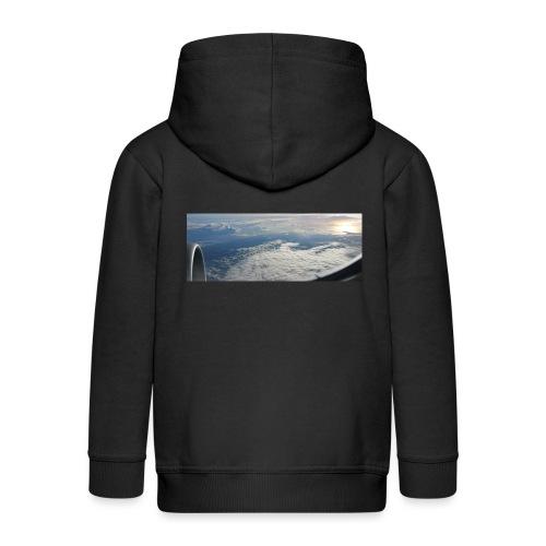 Flugzeug Himmel Wolken Australien - 2. Motiv - Kinder Premium Kapuzenjacke