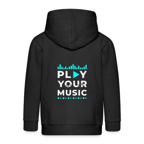 Play your music - Kinder Premium Kapuzenjacke