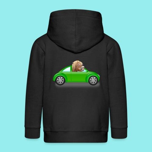 Poney voiture - Veste à capuche Premium Enfant