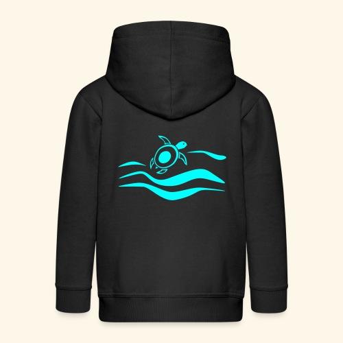 Mehr Schildis gibt es nur im Meer :) - Kinder Premium Kapuzenjacke