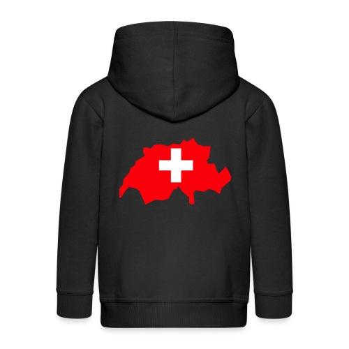 Switzerland - Kinderen Premium jas met capuchon