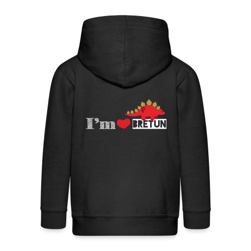 IM CORAZON BRETUN - Chaqueta con capucha premium niño