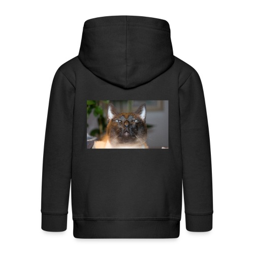 Kitty Cat - Kinder Premium Kapuzenjacke