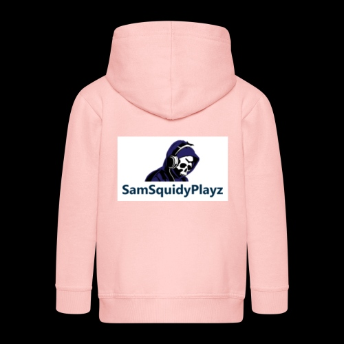 SamSquidyplayz skeleton - Kids' Premium Zip Hoodie