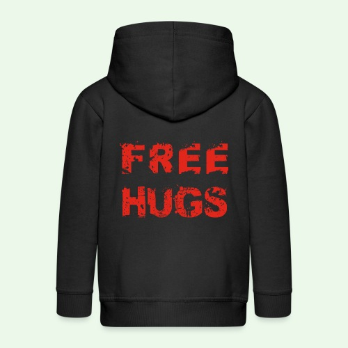 Free Hugs // Flirten // T-Shirt - Kinder Premium Kapuzenjacke