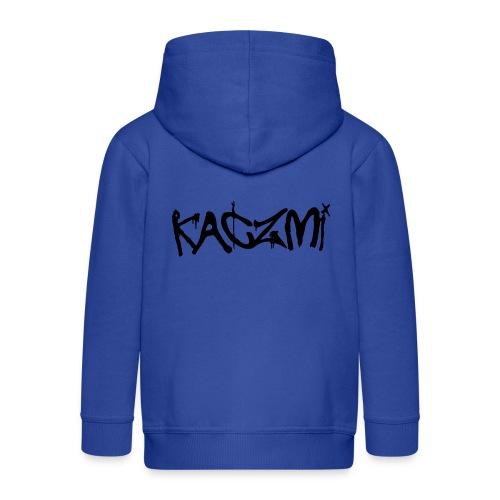 kaczmi - Rozpinana bluza dziecięca z kapturem Premium
