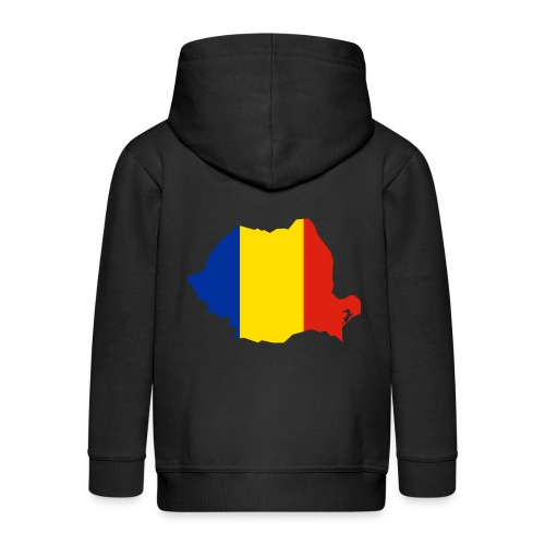 Romania - Kinderen Premium jas met capuchon