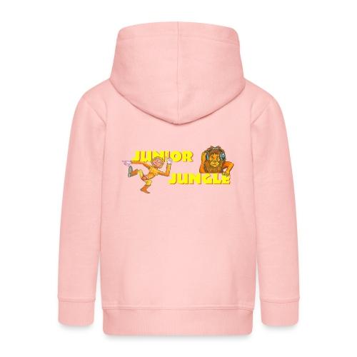 T-charax-logo - Kids' Premium Zip Hoodie