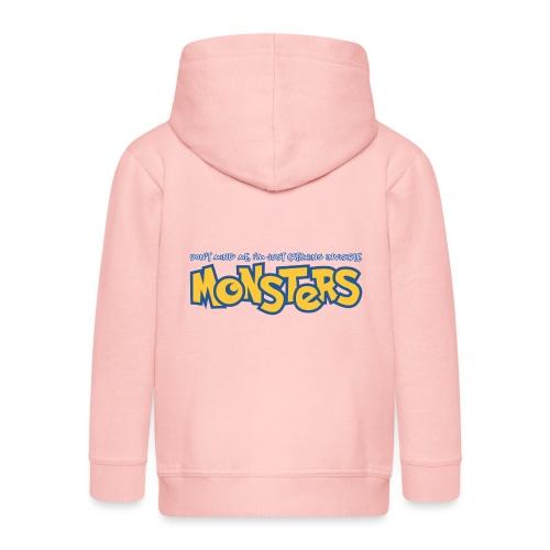 Monsters - Kids' Premium Zip Hoodie