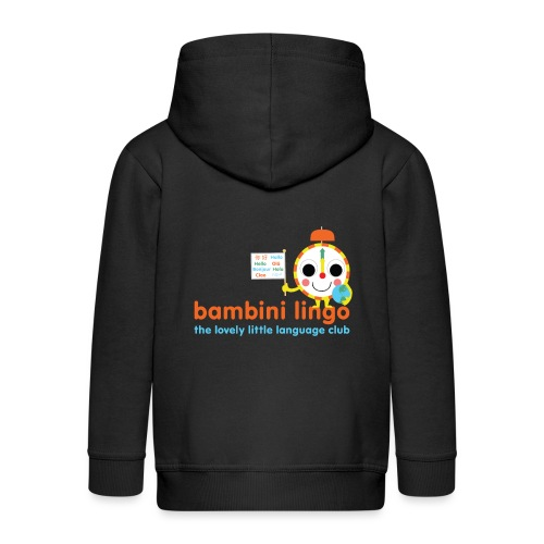 bambini lingo - the lovely little language club - Kids' Premium Zip Hoodie