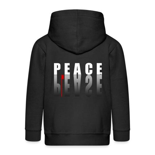 66_PeacePlease_02_ - Kinder Premium Kapuzenjacke