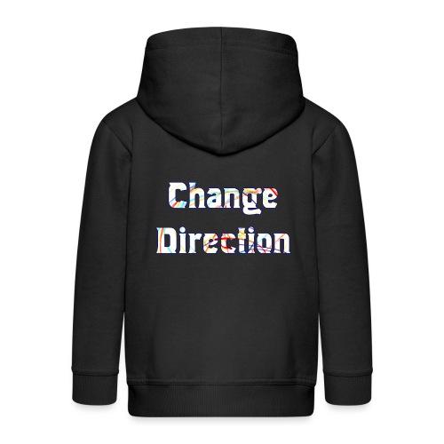 Change Direction - Kids' Premium Zip Hoodie